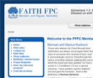 Church Joomla Members-Only Site - http://www.faithfpc.org/ffpc/